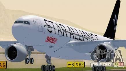 Airbus A330-200 SWISS (Star Alliance Livery) для GTA San Andreas