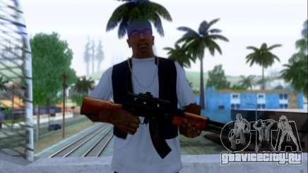 АКМн с ПБС для GTA San Andreas