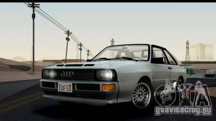 Audi Sport Quattro B2 (Typ 85Q) 1983 [HQLM] для GTA San Andreas