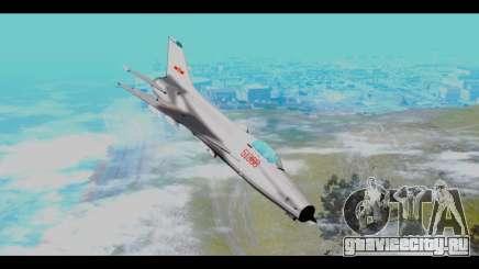 MIG-21 China Air Force для GTA San Andreas