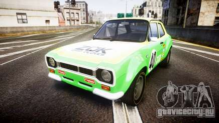 Ford Escort RS1600 PJ40 для GTA 4