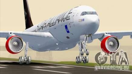 Airbus A330-300 SAS Star Alliance Livery для GTA San Andreas