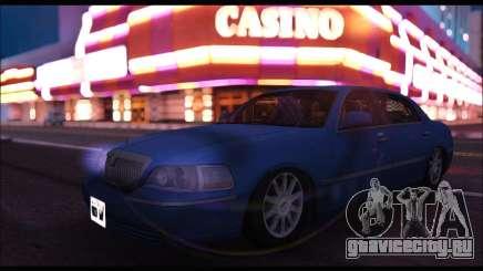 Lincoln Towncar (IVF) для GTA San Andreas