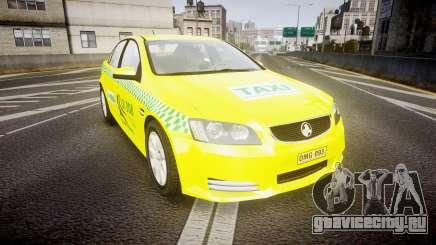 Holden Commodore Omega Series II Taxi v3.0 для GTA 4