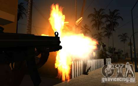 IMFX Gunflash для GTA San Andreas второй скриншот