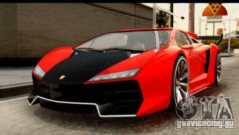 GTA 5 Pegassi Zentorno v2 IVF для GTA San Andreas