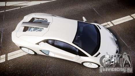 Lamborghini Aventador Hamann Limited 2014 [EPM] для GTA 4 вид справа