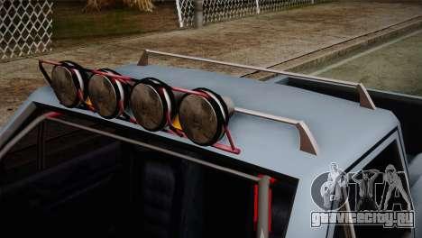 Camber Bobcat Editon для GTA San Andreas вид справа