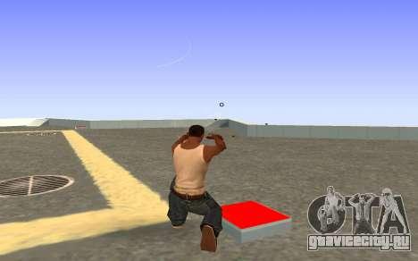 Glock-18 водяной CS:GO для GTA San Andreas третий скриншот