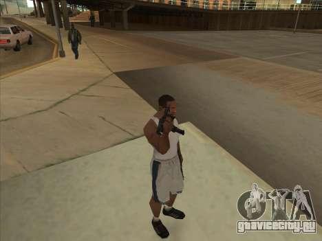 Русские пистолеты-пулемёты для GTA San Andreas седьмой скриншот