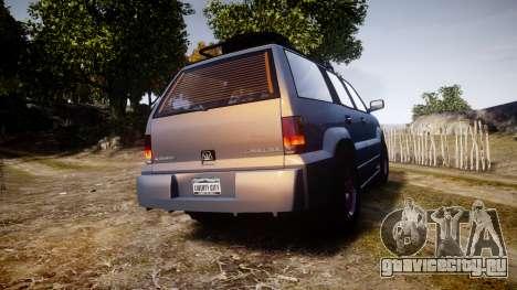 Albany Cavalcade Offroad 4X4 для GTA 4 вид сзади слева