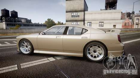 Bravado Buffalo Supercharged 2015 для GTA 4 вид слева