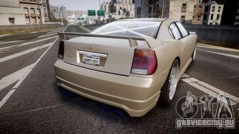 Bravado Buffalo Supercharged 2015 для GTA 4 вид сзади слева