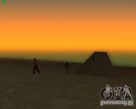 ENB JP для GTA San Andreas второй скриншот