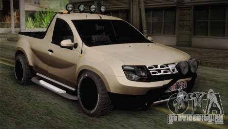 Dacia Duster Pickup 2014 для GTA San Andreas
