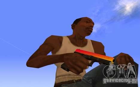 Glock-18 градиент CS:GO для GTA San Andreas
