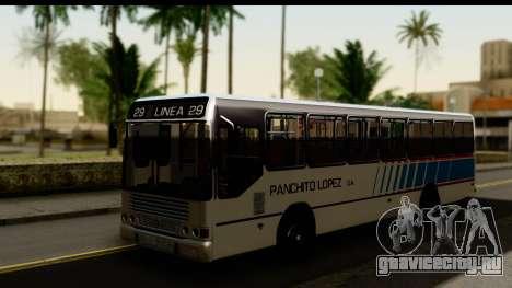 Marcopolo Torino GV Linea 29 Panchito Lopez для GTA San Andreas