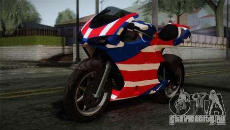 GTA 5 Bati American для GTA San Andreas