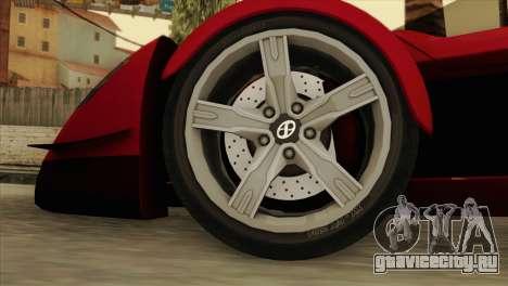 Tramontana XTR для GTA San Andreas вид сзади слева