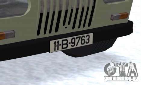 Aro 244 для GTA San Andreas вид сбоку