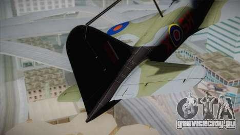 ИЛ-10 Russian Air Force для GTA San Andreas вид сзади слева