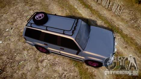 Albany Cavalcade Offroad 4X4 для GTA 4 вид справа