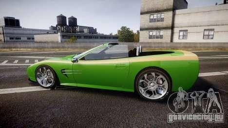 Invetero Coquette Roadster для GTA 4 вид слева