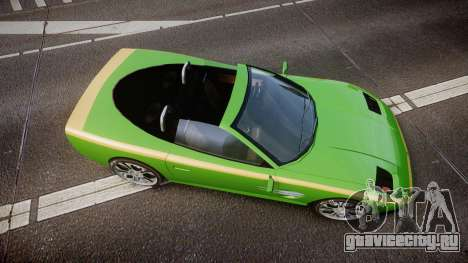 Invetero Coquette Roadster для GTA 4 вид справа
