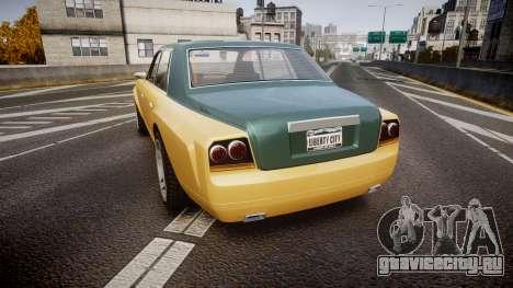 Enus Super Diamond 2 Colors для GTA 4 вид сзади слева