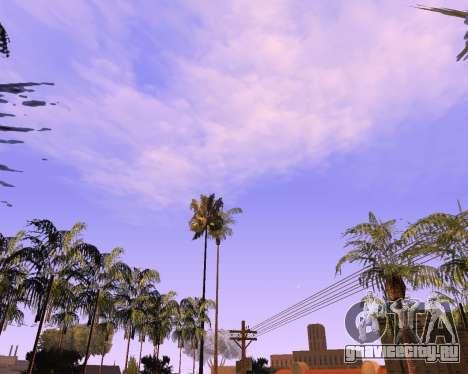 Новые облака и Colormod для GTA San Andreas второй скриншот