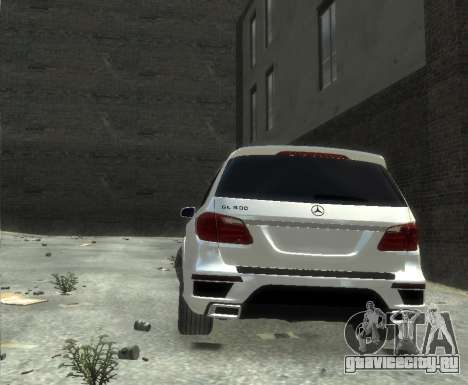 Mercedes-Benz GL500 2014 для GTA 4