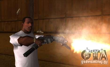 IMFX Gunflash для GTA San Andreas третий скриншот