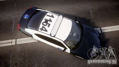 Dodge Charger 2010 LCPD [ELS] для GTA 4 вид справа