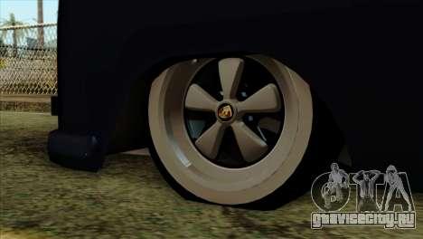 Volkswagen Type 2 для GTA San Andreas вид справа