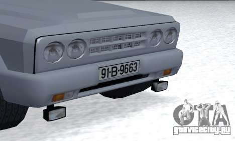 Aro 328 для GTA San Andreas вид изнутри
