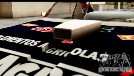 Chevrolet Series 2 Turismo Carretera Mouras для GTA San Andreas вид сзади