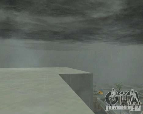 Новые облака и Colormod для GTA San Andreas третий скриншот