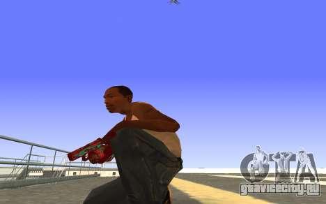 Glock-18 водяной CS:GO для GTA San Andreas второй скриншот
