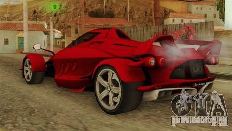 Tramontana XTR для GTA San Andreas вид слева