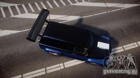 Slamvan Dragger для GTA 4 вид справа