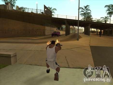 Русские пистолеты-пулемёты для GTA San Andreas пятый скриншот