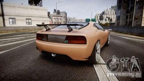 Grotti Turismo GT Carbon для GTA 4 вид сзади слева