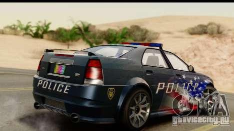 EFLC TBoGT Albany Police Stinger IVF для GTA San Andreas вид слева