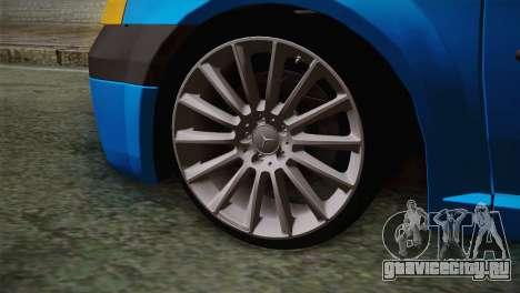 Dacia Logan 2006 для GTA San Andreas вид сзади слева