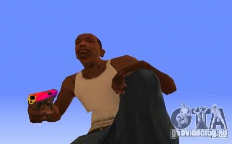 Glock-18 градиент CS:GO для GTA San Andreas второй скриншот