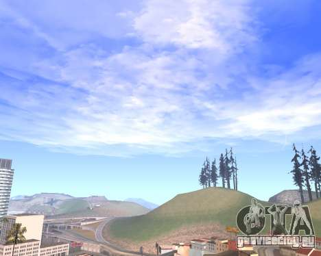 Новые облака и Colormod для GTA San Andreas