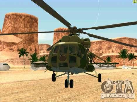 Ми-8 для GTA San Andreas вид слева
