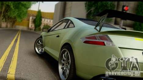 GTA 5 Maibatsu Penumbra SA Mobile для GTA San Andreas вид сзади слева