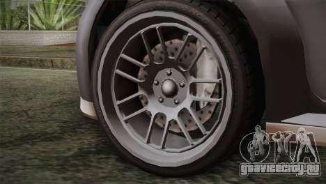 GTA 5 Sentinel для GTA San Andreas вид сзади слева