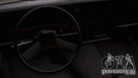 Chevy Caprice Hustler & Flow для GTA San Andreas вид справа